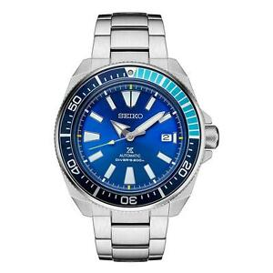 BRAND NEW IN BOX  Seiko Prospex Samurai SRPB09 Blue Lagoon LIMITED EDITION AUTHORIZED DEALER ( 3 ) YEAR WARRANTY