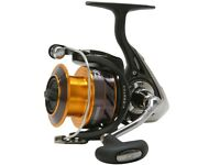Daiwa Ninja Reel Black And Gold 3000 New Coarse/Game Fishing Reel