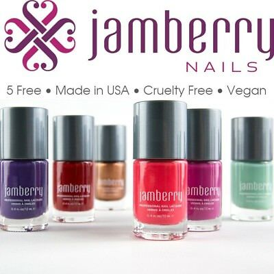 Jamberry Nail Lacquer Polish Big 5 Free Solvent Free Vegan Authentic  You Choose