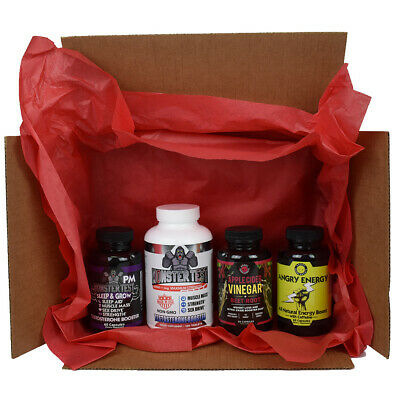 Monster Test Subscription Box Testosterone Booster  4 Products + Bonus Best