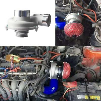 Car Improve Speed Fuel Saver Electric Turbo Supercharger Kit Air Filter Intake