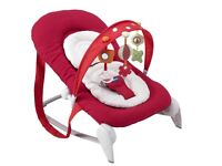 Chico red bouncer chair