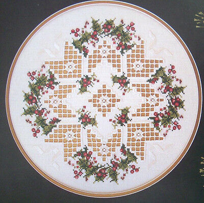 Christmas Star Hardanger & cross stitch patterns