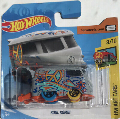 HOT WHEELS 2018 353/365 KOOL KOMBI Volkswagen NEW ON CARD