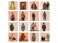 VINTAGE STARWARS / STAR WARS LOOSE ACTION FIGURES POWER OF THE FORCE LAST 17