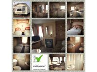 Caravan for hire north wales to towyn sited on golden gate