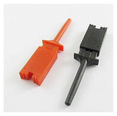 1 Pair Grabber Smd Ic Test Probe Hook Clip For Multimeter Meter Volt Ad3