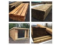Decking Products, Fencing Timer, Sheet Materials and General Timber products