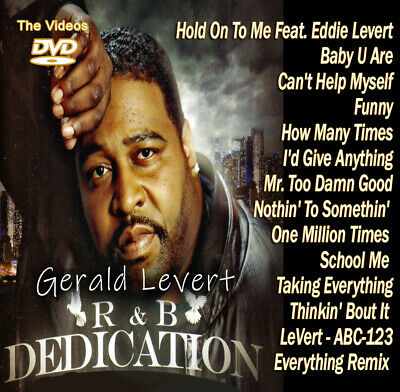 Best Of Gerald Levert DVD VIDEO Compilation Mix