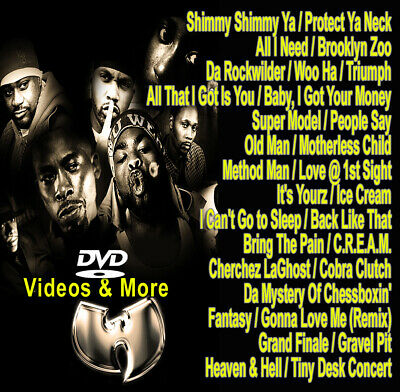 Best Of Wu Tang Collection DVD VIDEO Compilation Mix