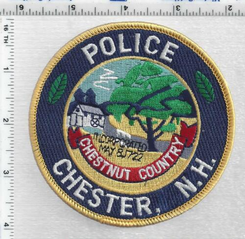Chester Police (New Hampshire) 1st Issue Shoulder Patch