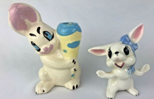Darling Vintage ANTHROPOMORPHIC  Easter Rabbit Bunny Hobbyist
