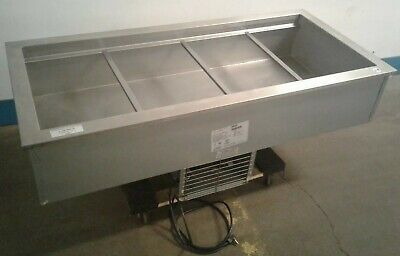 Delfield N8156b Commercial 4 Well Refrigerated 56x 26 Drop-in Cold Pan. Our 1
