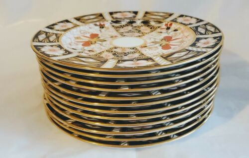 c1916 ROYAL CROWN DERBY TRADITIONAL IMARI 2451 Dessert Plates Sold individually