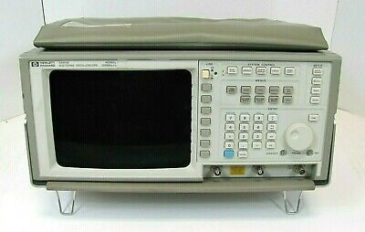 Hp 54504a 400mhz 200msas Digitizing Oscilloscope -free Shipping
