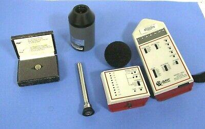 Quest Technologies Model 1800 Precision Integratinglogging Sound Level Meter