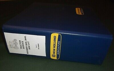 New Holland Boomer 3040 3045 3050 Cvt Tractor Service Shop Repair Manual