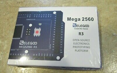 ELEGOO MEGA 2560 R3 Board Blue ATmega2560 New Sealed USA