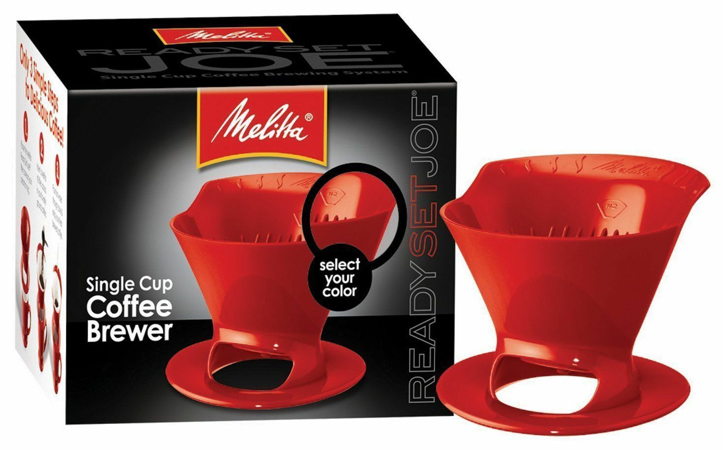 Melitta Ready Set Joe Cone - Red