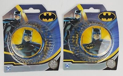 Treat Street Batman Cupcake Baking Cups LIners Party Two Packs 48 - Batman Cupcake Liners