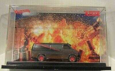 Hot Wheels Comic-Con The A-Team Custom GMC Panel Van Real Riders Dirty Version