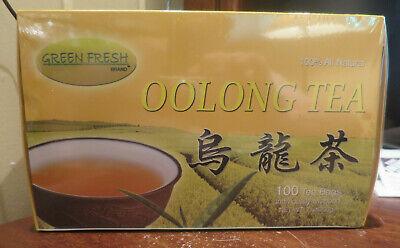 Oolong Tea by Green Fresh, 100 individually wrapped Tea bags Fujian China  ()