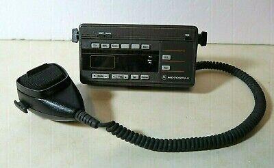 Motorola Maratrac Hcn1089a Radio Remote Control Head With Hmn4013a Microphone
