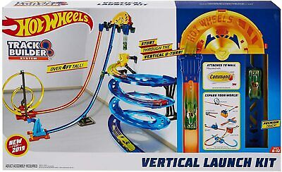 """Hot Wheels Track Builder """"Vertical Launch Kit"""" 50-Inches High Kid Toy Gift"""