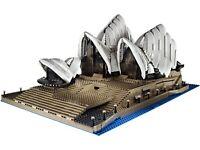 Acrylglas Vitrine Haube für LEGO Modell Sydney Opera 10234