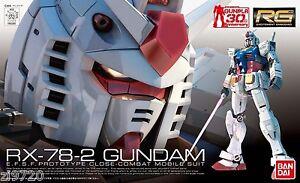 Gundam 1/144 RG #01 RX-78-2 Gundam Bandai 163280 Real Grade Model Kit