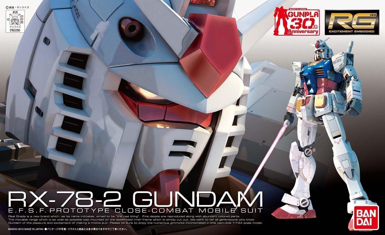 Real Grade Bandai #01 RX-78-2 Gundam 1//144