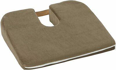 Duro-Med Foam Seat Cushion for Coccyx Support and Better Posture,