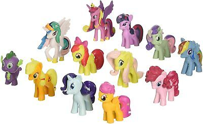 Win8Fong 12 piece Set My Little Pony Toys Figurines Playset Multi by Win8Fong