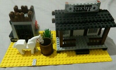 Vintage Lego System 6755 - Western Cowboys - Sheriff's Lock-Up - Bundle Job Lot
