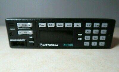 Motorola Astro Spectra W7 Radio Rear Control Head Hln6432d Hln6432