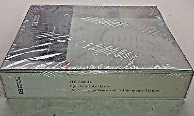 Hp 8568b Spectrum Analyzer Performance Tests Adjustments Manual 08568-90118