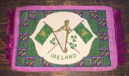 Antique Ca 1915 Cigar Felt Flannel ~ IRELAND