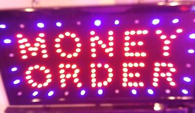 Money Order, Led Neon Sign ,Store Sign, Business Sign,Window Sign (20