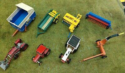 Britains farm Pack Lot de Machine Agricole / Ferme - 1/32 + Corgi tractor