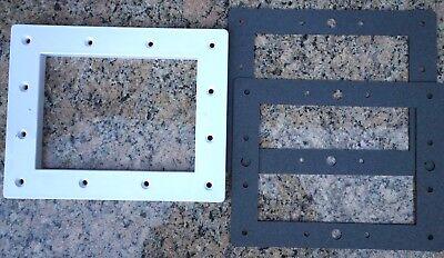 Hayward SPX1084L Swimming Pool Skimmer Faceplate &  2 Gaskets SPX1084B [KIT32]