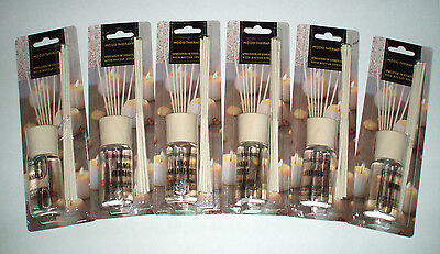 WHOLESALE LOT (6) MOOD THERAPY Fragrance Scented Oil Reed Diffuser Gift Kit Set