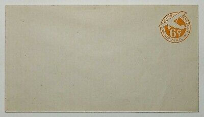 1940s 6c Airmail Postal Stationary Mint on White