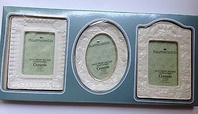 Ltd Frame Set (Philip Whitney LTD Frame Set Hand Sculptured 22K Gold Applied NEW )