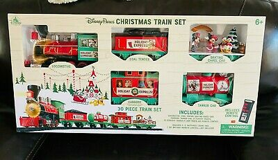 Disney Parks Holiday Train Express 2019 Christmas Mickey & Friends Train Set NEW