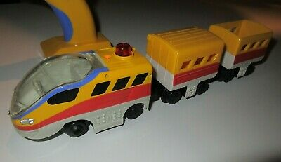 Fisher Price GeoTrax Grand Central Station Aero Train Engine Remote Control WORK