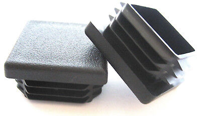 10 - 1 14 Square Tubing Plastic Plugs 1-14 Inch End Cap 11-18 Ga 1.25 X 114
