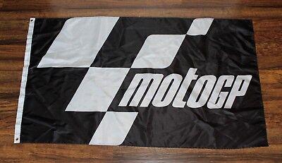 Moto GP Checkered Banner Flag Motorcycle Racing Grand Prix Dirt Bike MotoGP