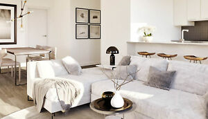 2 Bdr Brand New Condo Apartment in Downtown  - Prime Location