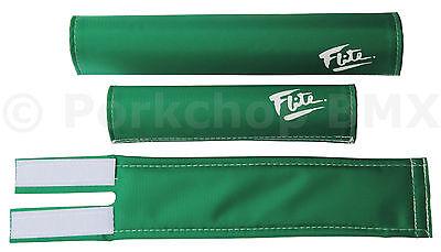 FLITE ICE old school BMX padset foam racing pads *MADE IN USA* FUSCHIA PINK