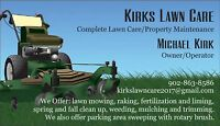 KIRKS LAWN CARE           Residential and Commercial